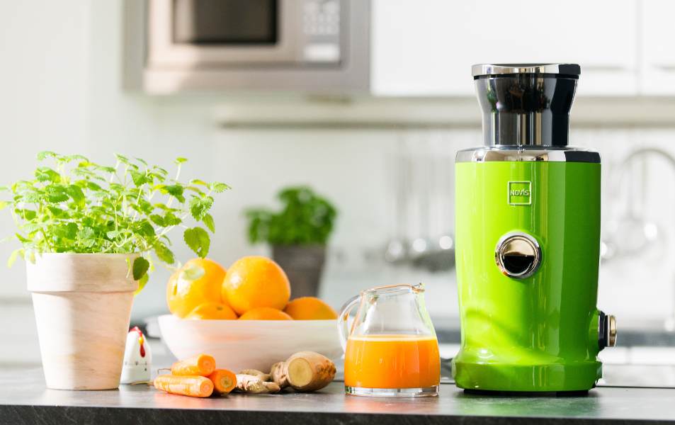 Novis vita Juicer S1 - Green - Spinchy